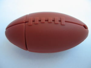 Ellipse Football USB Flash Drive pictures & photos