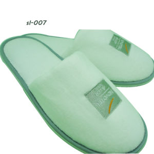 Hotel Amenities Slippers 2 Slipper Factory Terry Towel Slipper pictures & photos