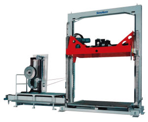Vertical Pallet Stapping Machine with Pet Strap pictures & photos