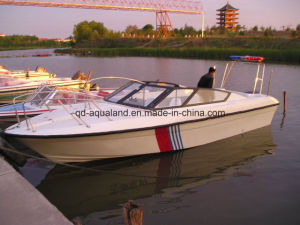 Aqualand 25feet 7.6m Fiberglass Speed Boat/Passenger Boat/Patrol Boat (760) pictures & photos