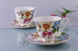 Bone China Coffee Cup English Style