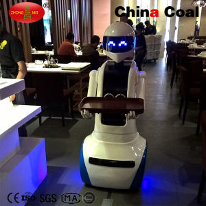 2017 New Style Ym 530 Automatic Electric Dish Delivery Robot pictures & photos