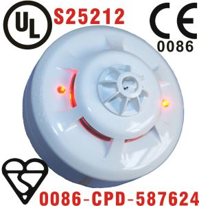 En Certificated Conventional Combined Smoke and Heat Detector with Relay Output Function (SNC-300-CR) pictures & photos