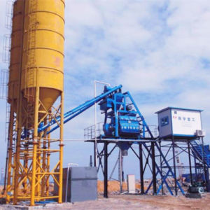 Factory Supply Hopper Type Concrete Batching Plant in India pictures & photos