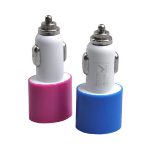 Dual USB Car Charger for iPhone/iPad/Samsung