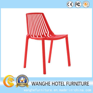 Simple Design Colorful Stackable Plastic Navy Dining Chair pictures & photos