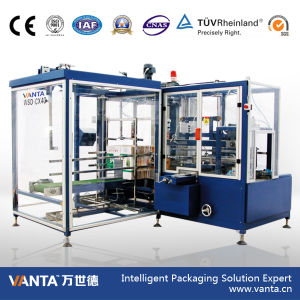 36cpm Automatic Carton Making Machine Hot Melt Glue Carton Erector