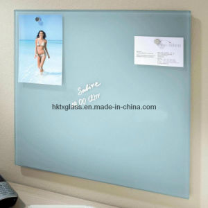 White Glass Writing Board / Tempered Glass Writing Board (TX-1210) pictures & photos