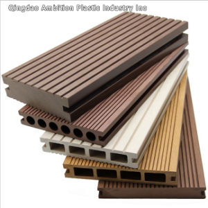 China Outdoor WPC Timber Decking Floor