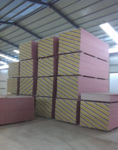 Fire-Proof Gypsum Board Drywall Partition Board pictures & photos