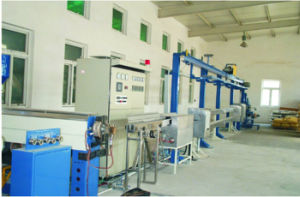 Electrical Wire Electronic Cable Extrusion Production Line Extruder Machine pictures & photos