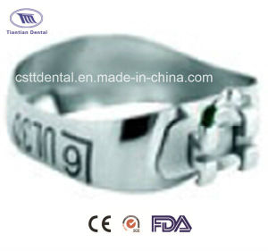 Orthodontic Mbt Straight Wire Pre-Welded Bracket Bands