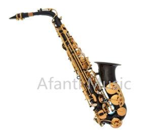 Black Body Alto Saxophone (AAS001BK) pictures & photos