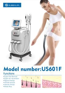 Newest Shr Fast Hair Removal Machine with 3 Handpiece pictures & photos