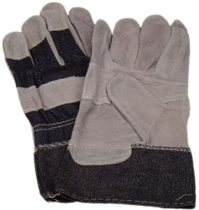Working Leather Gloves with CE Approval (SQ-002) pictures & photos