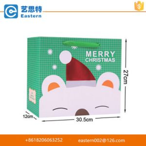 Christmas Holiday Paper Gift Store Packaging Shopping Bag pictures & photos