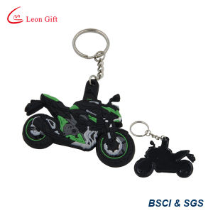Hot Sale Promotion Gift 3D Motorcycle PVC Keychain (LM1801) pictures & photos