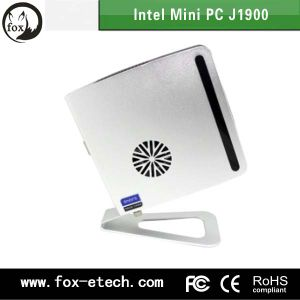 Zero Mini Thin Client Computer Storage 2GB RAM DDR3 Quad Core J1900 Fanless Linux OS/Win10 6*USB Factory in Shenzhen, China pictures & photos