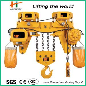 High Working Efficiency 10t Electric Chain Hoist pictures & photos