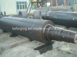 Wind Turbine Main Shaft Free Forging Open Die pictures & photos