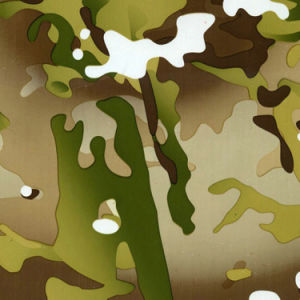 Kingtop 1m Width Camouflage Design Water Transfer Film Wdf639-2  pictures & photos