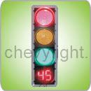 400mm LED Traffic Light (JD400-3-45-1D)