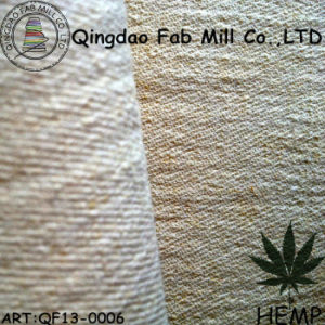 Hemp/Recycled Polyester Stretch Fabric (QF13-0006) pictures & photos
