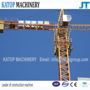 Qtz63 Series Tc5013b-6 Double Gyration 6t Load Tower Crane pictures & photos