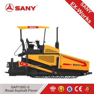 Sany Sap130c-5 Road Machinery Pitch Paver Concrete Asphalt Paver Laying Machine pictures & photos