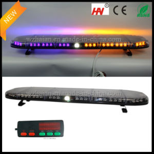 2014 Newest Waterproof Police Lightbar in Purple Color pictures & photos