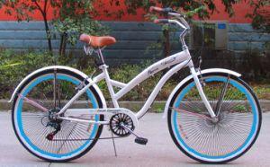2015 New 7speed 120h Alloy Rim Beach Cruiser Bike (FP-BCB-C034) pictures & photos