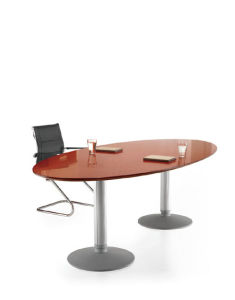 Meeting Table with Metal Leg (OWMT1801-24)