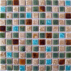 Bubble Round Porcelain Mosaic for Kitchen pictures & photos