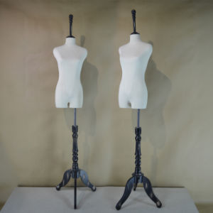 Fabric Wrapped Female Torso Mannequin in Hot Sale pictures & photos