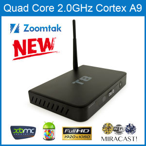 T8 Full Rooted Android TV Box with Amlogic S802 2g RAM 8g Nand Flash Perfect Xbmc pictures & photos