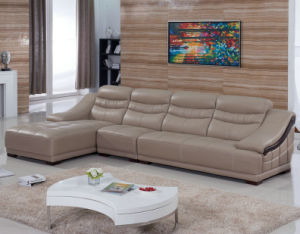 L Shape Modern Furniture Home Sofa (B. 918) pictures & photos