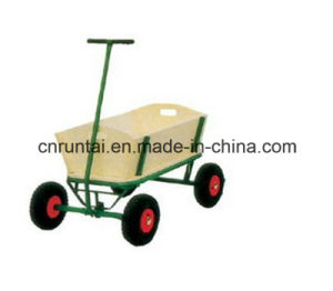 Utility Beautiful Garden Wagon Tool Cart pictures & photos