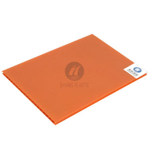 Orange Polycarbonate PC Hollow Sheet with High Quality pictures & photos