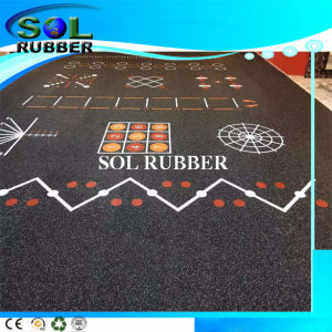 High Quality Speical Design Roll Commerical Rubber Flooring pictures & photos