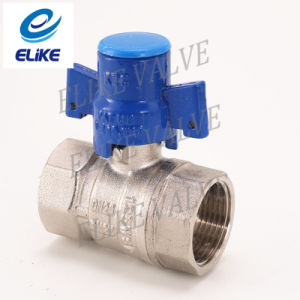 Dn20 Brass Ball Valve with Blue Handle