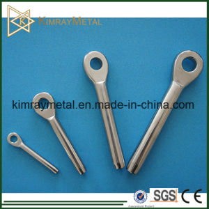 """Ss316 Eye Swage Machine Stud for 1/8"""" Cable pictures & photos"""