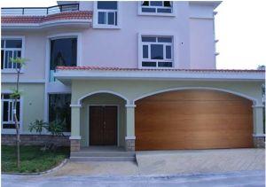 Automatic Sectional Garage Door with Different Type Door Panel pictures & photos