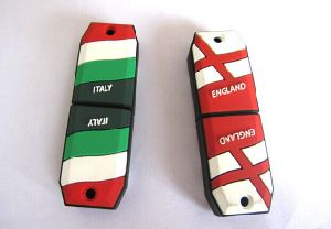 Customized PVC USB Flash Stick (OM-P161) pictures & photos