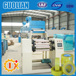 Gl-500e BOPP Transparent Adhesive Tape Coating Machine pictures & photos