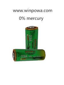 Chime Door Bell Dry Battery Pack 12V Alkaline (23A) pictures & photos
