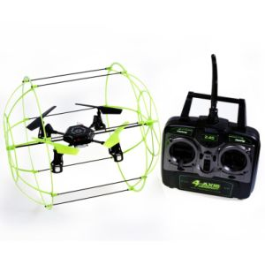 2.4GHz 4-Axis Wall Climbing Stunt RC Quadcopter with Mems Gyro