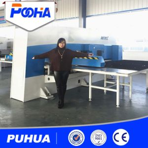 CNC Turret Punching Machine for Thick Plate Hole Punching pictures & photos