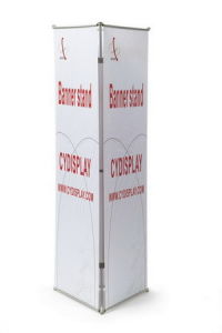 Advertising Display Triple Banner Stands pictures & photos