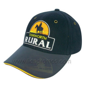 Brushed Cotton Logo Embroidery Premium Quality Promotional Leisure Baseball Cap pictures & photos