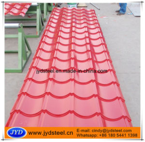 Color Glazed Metal Roof Tile pictures & photos